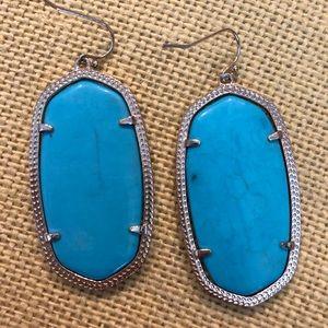Kendra Scott Danielle Turquoise Earrings